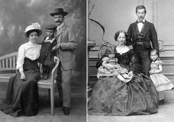 A bal oldali fotó 1905-ben, József Attila születésének évében készült, a jobb oldali pedig 1900-ban, abban az évben, amikor Zeppelin LZ-1 jelzésű léghajója első próbaútjára indult. Világszenzáció volt.