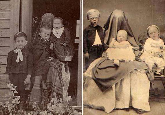 A két anyuka bizonyára egymástól függetlenül alkalmazta ugyanazt a cselt.