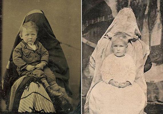 Volt, akinek az anya megnyugtató jelenléte ellenére sem volt éppen kedvére a fényképezkedés.