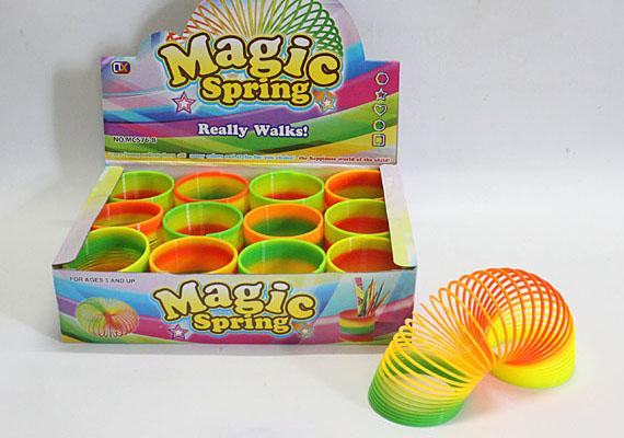 A lépcsőztető vagy színrugó néven is ismeretes játékot kislányok és kisfiúk egyaránt szerették - igaz, ha összegubancolódott, legtöbbször felnőttsegítséggel lehetett csak kibogozni.