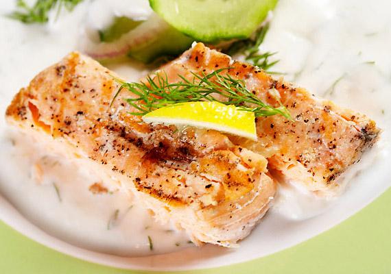 …beleértve az egyébként sok szempontból egészséget halat is.