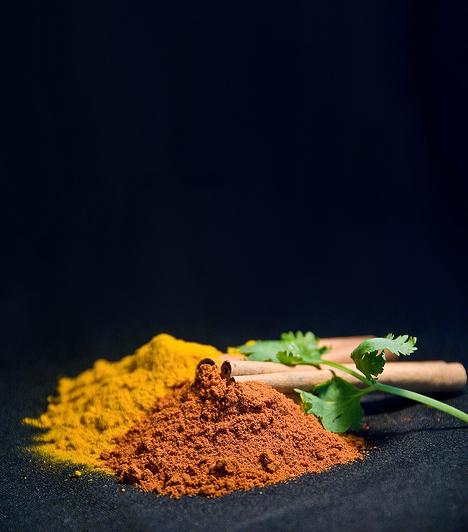 Fűszerek  Az erőteljes ízű fűszerek, mint a fahéj vagy a curry módosíthatják az anyatej ízét, de hasonló hatása van a fokhagymának is. Ha fogyasztásuk után a pici nem akar szopni, részesítsd előnyben az enyhébb ízeket.