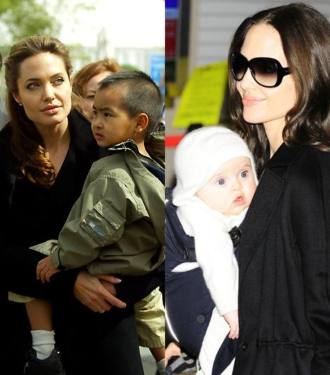 Angelina JolieFiatalabb korában Angelina a legkevésbé sem keltette ősanya benyomását, ám ő az élő bizonyíték arra, hogy egyszer mindenki megérik a szülői szerepre. Immár hat gyerkőc édesanyjaként is gyönyörű.Kapcsolódó címke:Angelina Jolie »