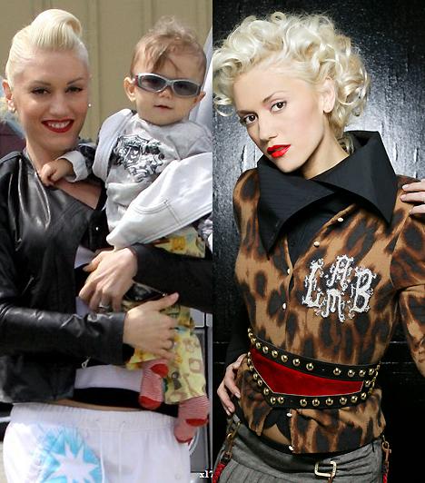 Gwen StefaniA karakteres hangú énekesnő mindig is az extrém stílusnak hódolt. Erről a hóbortjáról még anyukaként sem mondott le: a gyerekosztályon is biztos kézzel választja ki a legbizarrabb darabokat.Kapcsolódó cikk:A legdögösebb sztáranyukák és a bébik »