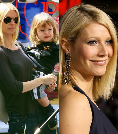 Gwyneth PaltrowA kis Mosesszel a karján nem éppen sugárzó szépség, de látszik rajta, hogy az anyaság tökéletesen boldoggá teszi. Még a filmezést is hajlandó a család mögé helyezni.Kapcsolódó érdekesség:Smink nélkül is elragadó a színésznő anyuka »