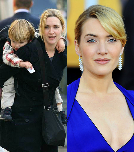 Kate WinsletAz angol színésznő a mindennapok során sohasem próbált ugyanolyan csinos és nőies lenni, mint a reflektorfényben. Talán ebben az egészséges hozzáállásban rejlik egyszerű, hétköznapi bája– hiszen nem akadályozzák tűsarkak abban, hogy a gyerkőcöt a hátára kapja.Kapcsolódó érdekesség:Sosem látott fotók a tini Kate Winsletről »