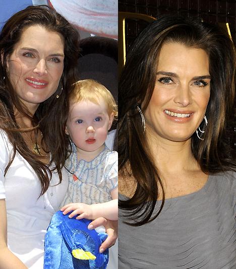 Brooke ShieldsAz egykori makulátlan szépség fénye mostanra kissé megkopott, de az ő korában ennyi igazán belefér. Különösen, hogy a gyermeke helyette is tündököl.Kapcsolódó érdekesség:Brutálisan szétszabatta arcát az egykori bombázó »