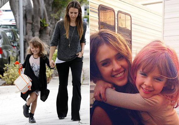 Jessica Alba kislányát modelliskolába járatja. Nem is csoda, hiszen bizonyára maga is látja, Honor Marie gyönyörű. Mosolyát és szépségét egyértelműen az anyukájától örökölte.