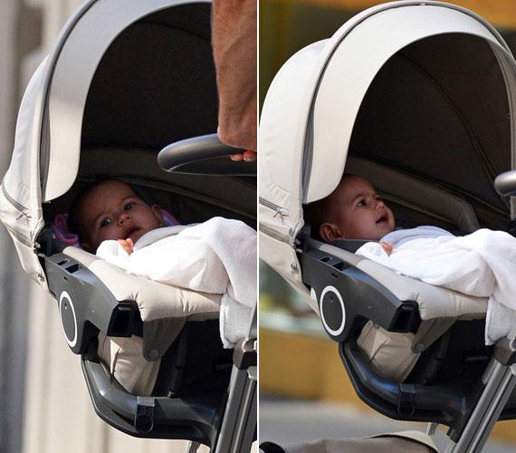 Bruce Willis felesége, Emma Heming-Willis kislánynak adott életet, akit Mabel Raynek neveztek el.