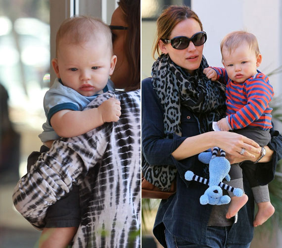 Jennifer Garnernek és Ben Afflecknek két lány után fiuk született, Samuel.