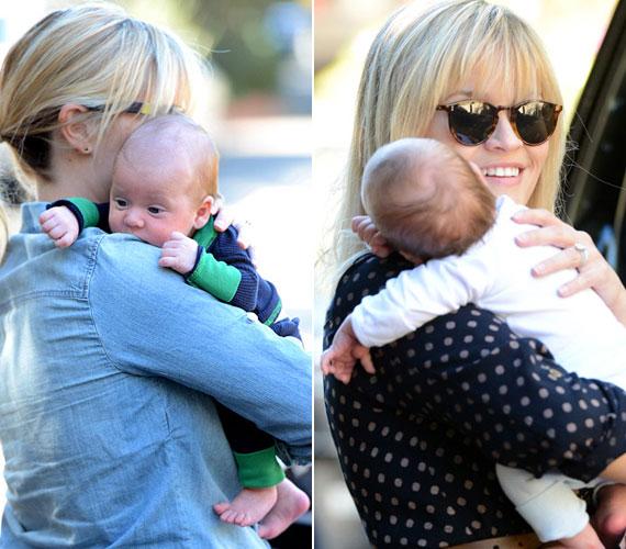 Reese Whiterspoon és Jim Toth közös gyermeke Tennessee James, kisfiú.