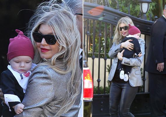 Fergie, a Black Eyed Peas egykori énekesnője, jelenleg szólóénekes, augusztusban hozta világra Axl nevű kisbabáját. Fergie csinosabb, mint valaha.