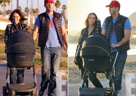 Jennifer Love Hewitt nem is oly rég, 2013 novemberében szülte Autumn nevű kisbabáját. Arcáról sugárzik a nyugalom és a boldogság.
