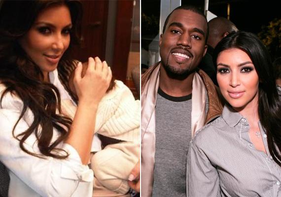 Kim Kardashiannek Kanye Westtől született nemrégiben, 2013 nyarán gyermeke, aki - különös módon - a North West nevet kapta. Kim remekül néz ki.