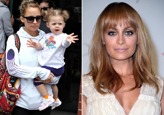 Nicole Richie kislánya, Harlow egyáltalán nem örökölte édesanyja vonásait, inkább csak apukájára ütött.