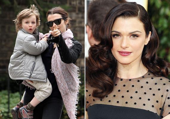 Rachel Weisz első házasságából született kisfia, Henry nem örökölte édesanyja különleges vonásait.