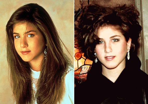 Bájos kislány volt Jennifer Aniston, de gyerekkorában nem igazán tűnt ki a tömegből átlagosnak mondható külsejével. A tinédzserkori hajbozontot elnézve - valószínűleg a The Cure nevű zenekar adta hozzá az ihletet - nehéz elképzelni, hogy később, amikor berobbant a sztárvilágba, már nők ezrei utánozták a frizuráját, és a legjobb pasik epekedtek érte.