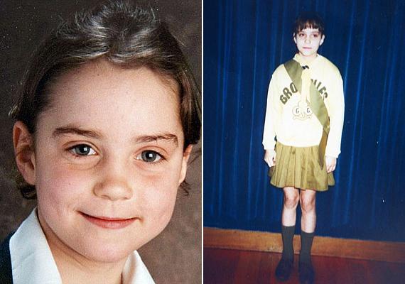 Kate Middletonnak már kislánykorában is őszinte, bájos mosolya volt, de ekkor valószínűleg még az anyukája sem sejtette róla, hogy egyszer majd valóra váltja a mesét, és hercegné lesz belőle.