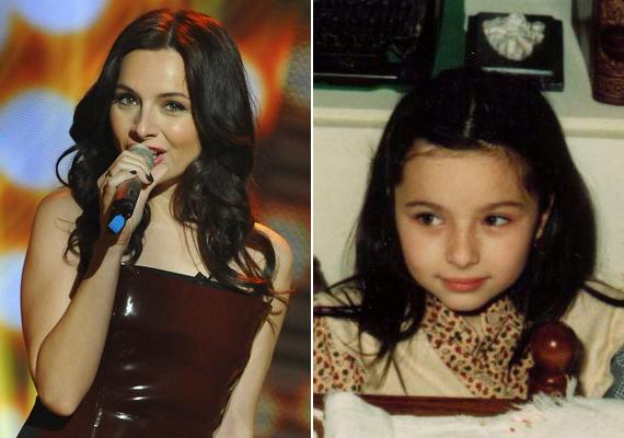 Zséda olyan volt kislányként, akár egy angyal. Szinte semmit nem változott. Vajon már ekkor is szívesen énekelgetett? 15 évesen kezdett énektanárhoz járni.