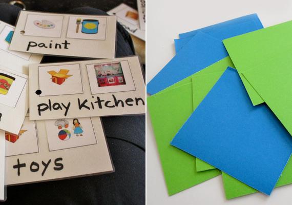 A nyelvtanulásban sokat segíthetnek a szókártyák, melyeket közösen is elkészíthettek, de nyomtatható verzióban is léteznek.