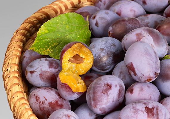 Szilva                         C-vitamin-tartalma rendkívül magas, ezért segíti az agyműködést a szilva. Már egy szem a napi szükséglet 7%-át tartalmazza. A szép lila színű gyümölcs ráadásul emésztésserkentő hatással is bír.