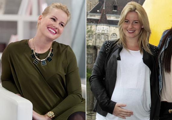 Mádai Vivien szinte ragyog! A hetedik hónapban jár első gyermekével, akit párjával szeptember elejére várnak. Esküvőjüket egyébként tavaszra tervezik.