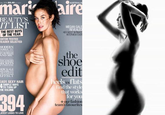 A nálunk kevéssé ismert modell-színésznő, Megan Gale 2014 májusában jelent meg anyaszült meztelenül az ausztrál Marie Claire címlapján.