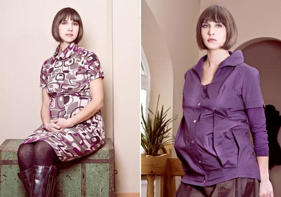 A lila továbbra is tartja magát, és sokaknak kifejezetten jól áll. A bal oldali darab 8500, a jobb oldali 10 500 forintba kerül.