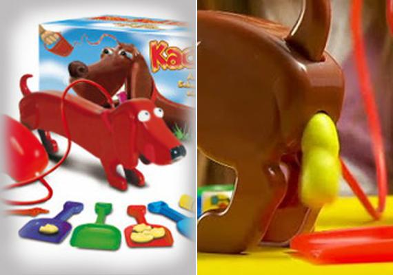 A kutyatartást modellező játék egyfelől jó ötlet, mert megtanítja a gyereket, hogy mindez nemcsak etetésből és labdázásból áll. Másfelől egy játék, ahol a kutyából kijövő végterméket kell apró lapátokkal összegyűjteni, elég fura.