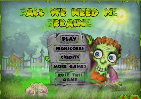 Zombis játékból temérdek akad. Ilyen Az agyadat akarjuk című is.