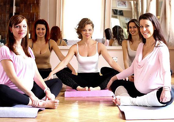 Az órákon olyan nők találkozhatnak, akik hasonló helyzetben vannak, és megoszthatják tapasztalataikat, tippjeiket egymással