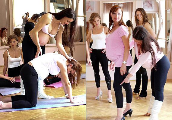 Felkészítenek a szülésre, sőt, a Babydoll tréning a későbbi regenerálódást is elősegíti.
