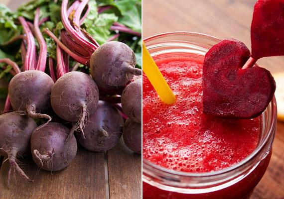 CéklaVasban bővelkedik a cékla, amely nemcsak finom, de gyönyörű a színe is. B- és C-vitamin-, valamint folsavtartalma miatt is érdemes fogyasztani. A gyereknek finom turmixba csempészheted. Ide kattintva találsz egy almás céklaturmixreceptet.