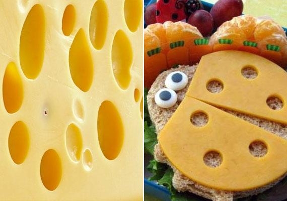 SajtA juhsajt, az edami, az óvári és az ilmici sajtok vastartalma kiváltképpen magas, ezért érdemes ezekről sem elfeledkezni a vérszegénységet megelőző étrendben. A gyereknek számtalan kreatív formában adhatod. Kattints ide aranyos szendvicsötletekért!