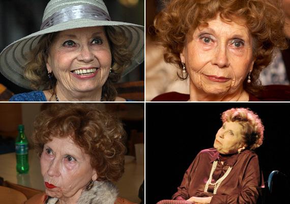 - Sem állni, sem járni nem bírok, de annyira megváltozott ez a világ, hogy inkább már örülök is, hogy nem most vagyok színésznő - mondta a 82 éves művész.
