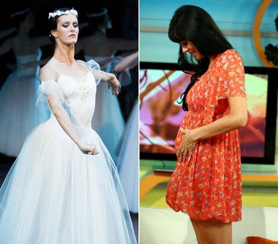 Keveházi Krisztina balettművész szeptemberben a Reggeliben osztotta meg az örömhírt, miszerint második gyermekét hordja a szíve alatt.