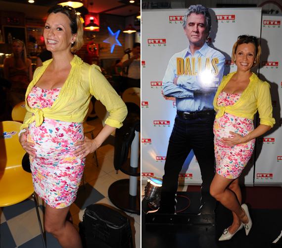Az RTL Klub műsorvezetője, Dombovári Vanda a terhességét is ügyesen titkolta, csak az ötödik hónapban derült ki, hogy babát vár. Október 5-én, csak egy héttel a szülés után derült ki az is, hogy világra jött kisfia, Gergő.