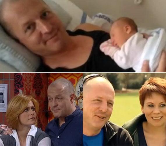 Dózsa Zoltán, a Jóban Rosszban Halász Istvánja június végén lett apuka. Első gyermeke kislány, aki az Emília nevet kapta szüleitől.