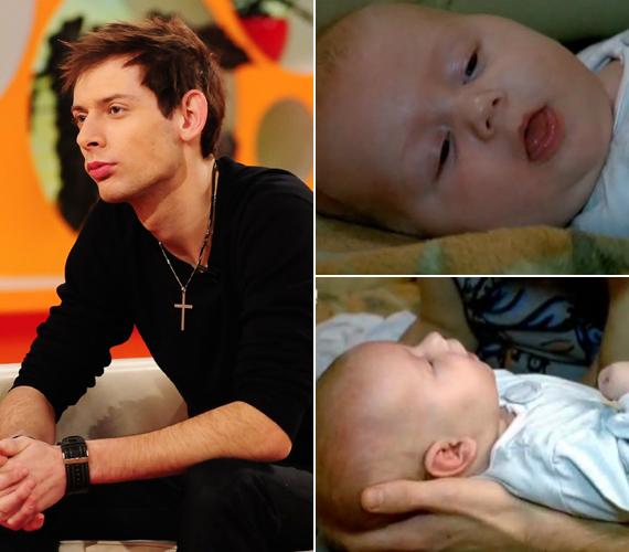 Király L. Norbert, az X-Faktor első szériájában feltűnt énekes szeptemberben lett apuka. Dominik teljesen megváltoztatta az életét.