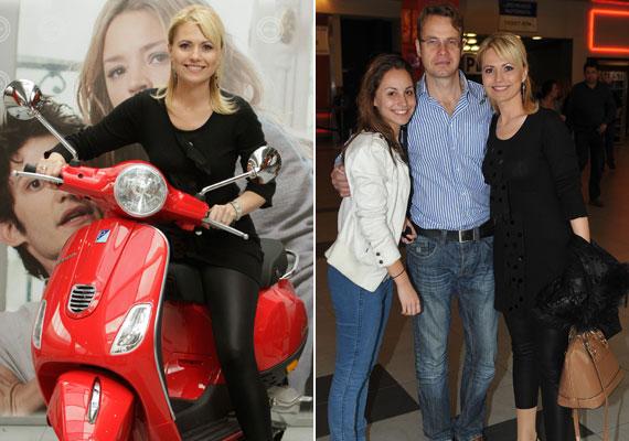 A köztévé partikon ritkán látott műsorvezetői is részt vettek az MTVA Felcsípve című, új, romantikus vígjátékának premier előtti vetítésén. A Kívánságkosár, valamint az Önök kérték népszerű műsorvezetője, Bényi Ildikó lányával és férjével érkezett a moziba.