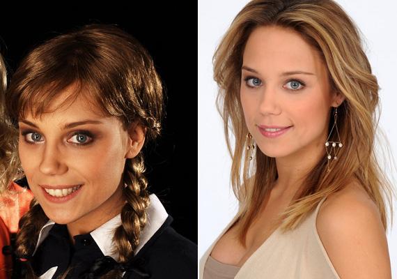 Kiss Ramóna, a Barátok közt Zsófija az Abigél című darab producere, Bánfalvy Ágnes egykori legendás filmszerepébe bújt.