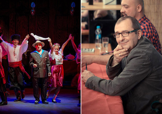 Józsa Imre, aki az idei nyár egyik legnagyobb színházi attrakciója, az Érinthetetlenek című zenés darab orosz maffiózóját alakítja, 34 év után a szakítás mellett döntött.