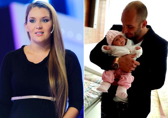 Óriási lelkiismeret-furdalása van Berki Krisztián párjának: a három hónapja szült Hódi Pamelának saját hibájából kevés a teje, túl korán fogott diétázásba.