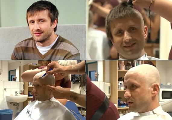 A Jóban Rosszban Nemes Viktorja, Jánosi Dávid megdöbbentő átalakuláson esett át: szerepe kedvéért kopaszra borotválták a fejét.