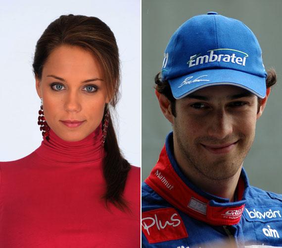 Kiss Ramóna szívét állítólag nem más, mint Bruno Senna hódította meg, akivel egy autóversenyen melegedett össze a közelmúltban.