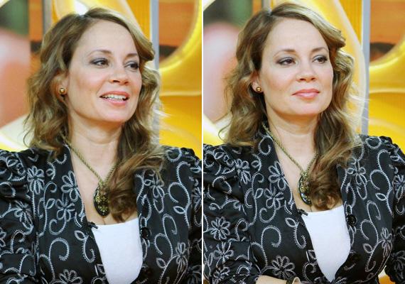 Csisztu Zsuzsa az RTL Klub Csak Csajok című műsorának hétfői adásában nem öltözetével, inkább irigylésre méltó, lágy hullámokban aláomló hajával hívta fel magára a figyelmet.