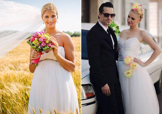 Még soha annyi hazai sztár nem mondta ki a boldogító igent augusztusban, mint idén. Például Tápai Szabina és Kucsera Gábor, Pély Barna és Galambos Dorina. A képes esküvői összeállításért kattints ide »
