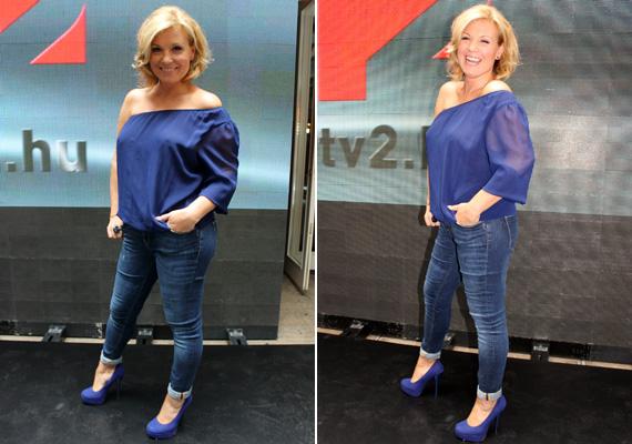 Liptai Claudia rácáfolt azokra a pletykákra, melyek szerint a szakítását követően elhagyta volna magát. A 39 éves műsorvezető kirobbanó formában mutatkozott be a SuperTV2 egyik arcaként.