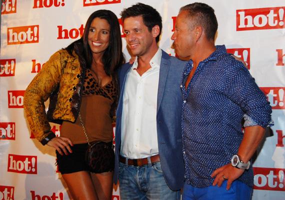 Rubint Réka a szokásosnál is vadítóbb volt a Hot! magazin partiján, még Schobert Norbi is túl dögösnek találta felesége szerelését.
