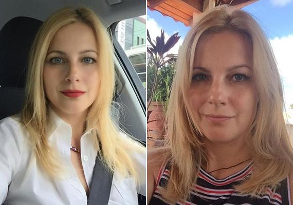 Szintén a 41-et tölti novemberben Várkonyi Andrea, aki sminkben is jó pár évet letagadhatna, anélkül pedig olyan, mint egy huszonéves.